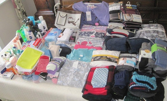 items donated for the ipswich winter night shelter