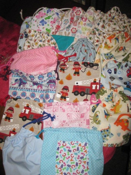 Memory bags for the special care baby unit
