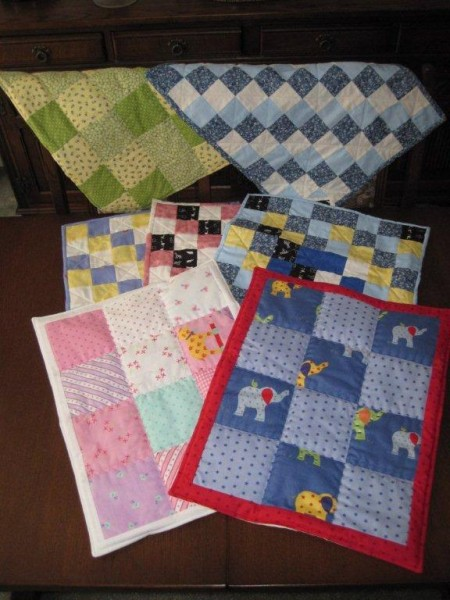 Photo of quilts for premature babies